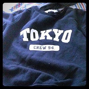 Tokyo logo sweater